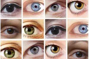 ¿Qué colores pueden tener los ojos?